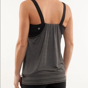 EUC Lululemon Run: Back On Track Tank
